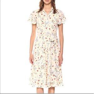 NWT Tahari Floral Shirt Dress
